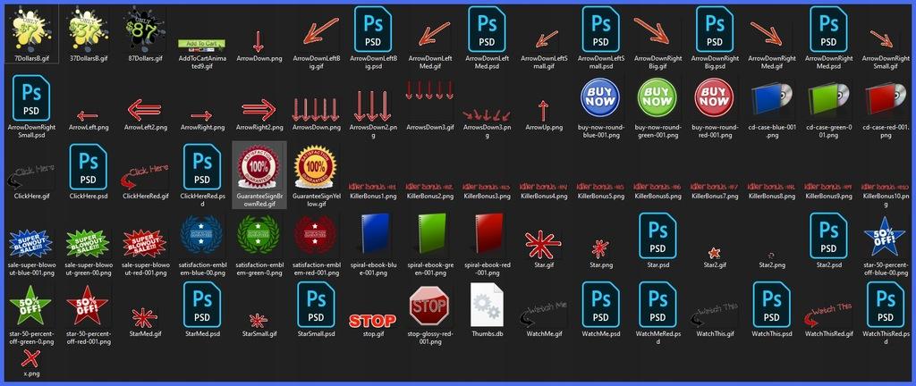 Mega Paczka Gotowych Grafik Na Twoją Stronę WWW