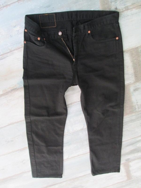 LEVIS 751___CZARNE męskie jeans____W34L30 34/30