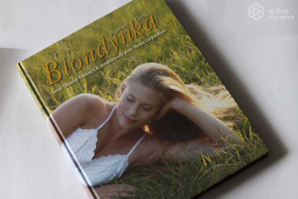 Książka portret filmu Blondynka