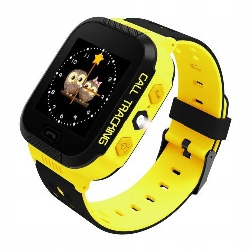 ART Watch Phone Go z lokalizatorem GPS żółty