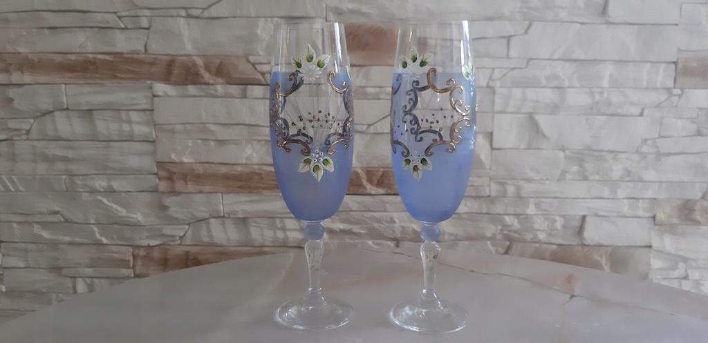 Kieliszki do szampana antyk