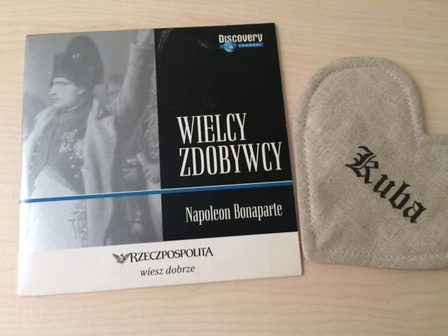 VCD WIELCY ZDOBYWCY NAPOLEON BONAPARTE