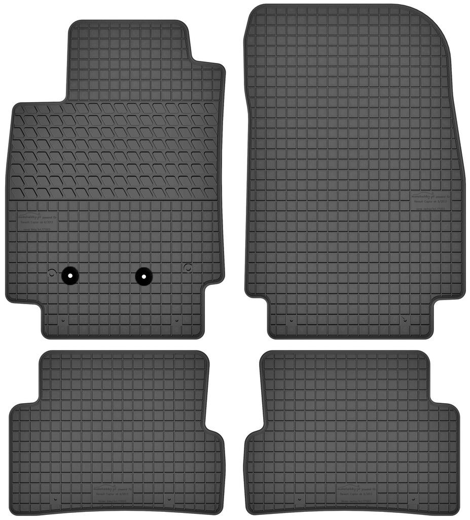 RENAULT CAPTUR gumowe dywaniki DEDYKOWANE STOPERY