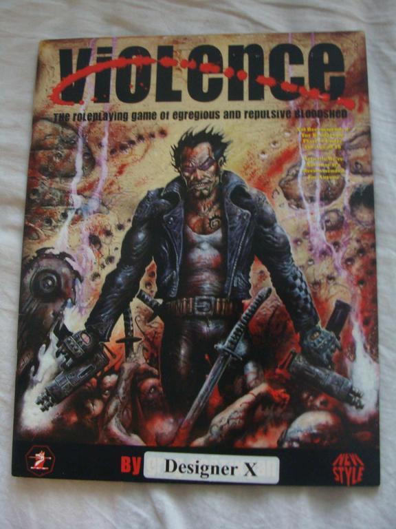 """VIOLENCE RPG - GRA Z SERII """"NEW STYLE"""" Z 1999 ROKU"""
