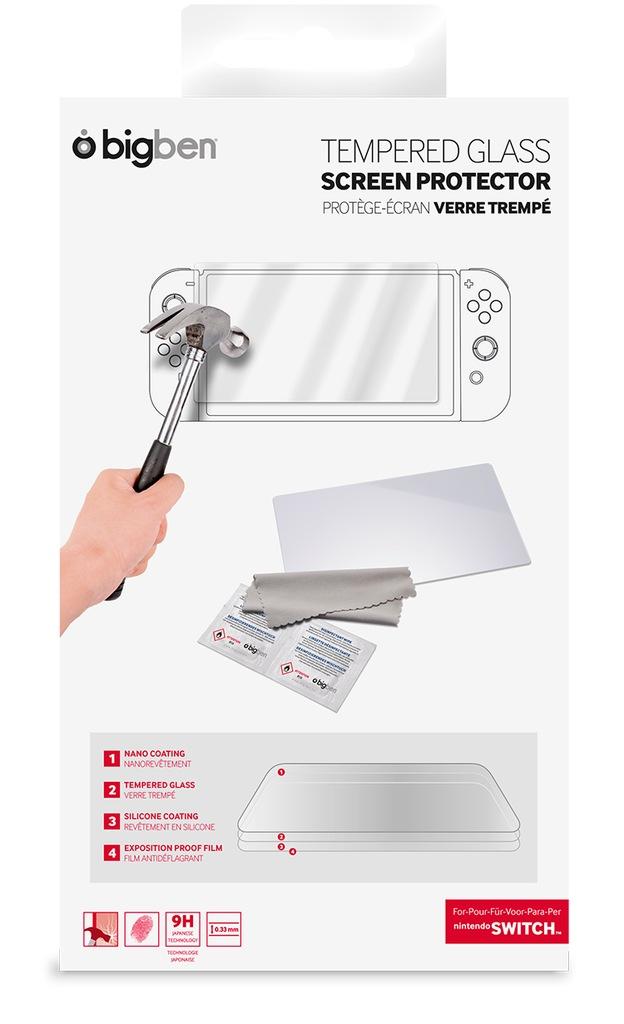 BIGBEN Nintendo Switch Folia na ekran (szkło)
