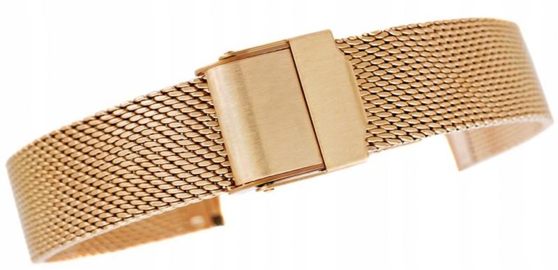 Bransoleta - Siatka Gold 14 mm gr. 2,0 mm ANAG-14
