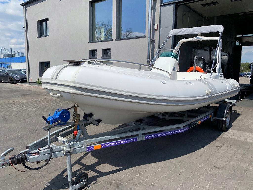 RIB Oceanic 580C + Suzuki 140KM + przyczepa FULL
