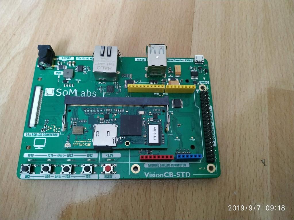 VisionSTK-uSD-TR01- zestaw SOMLabs
