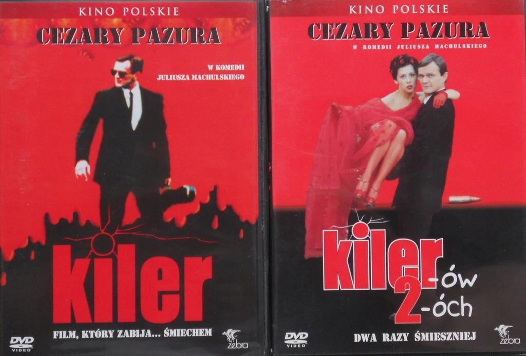 KILER + KILER-ÓW 2-ÓCH - 2 x DVD