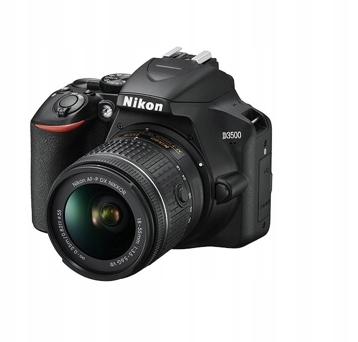 Lustrzanka Nikon D3500 korpus + obiektyw