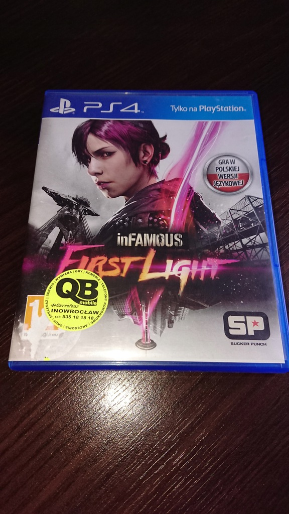 Infamous Second Son Infamous First Light 7704471538 Oficjalne Archiwum Allegro