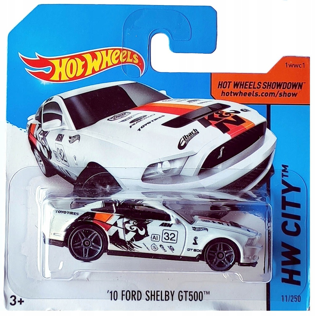 HOT WHEELS 10 FORD SHELBY GT500 HW CITY 1:64 NOWY