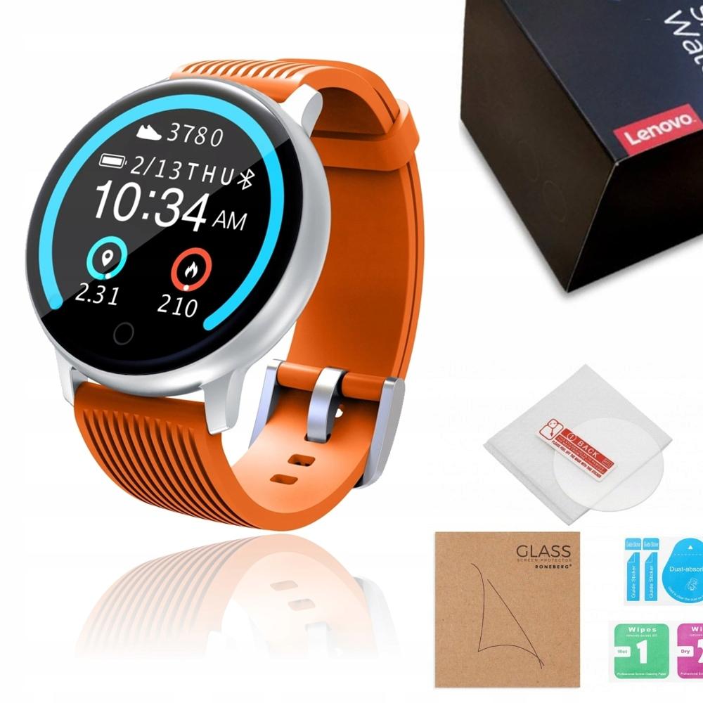 LENOVO BLAZE Smartwatch Zegarek kroki 5ATM + SZKŁO