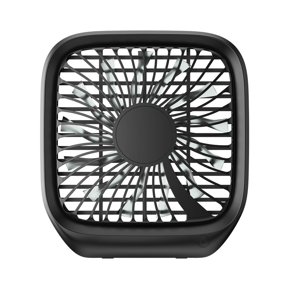 Baseus wiatraczek na zagłówek dla pasażerów czarny