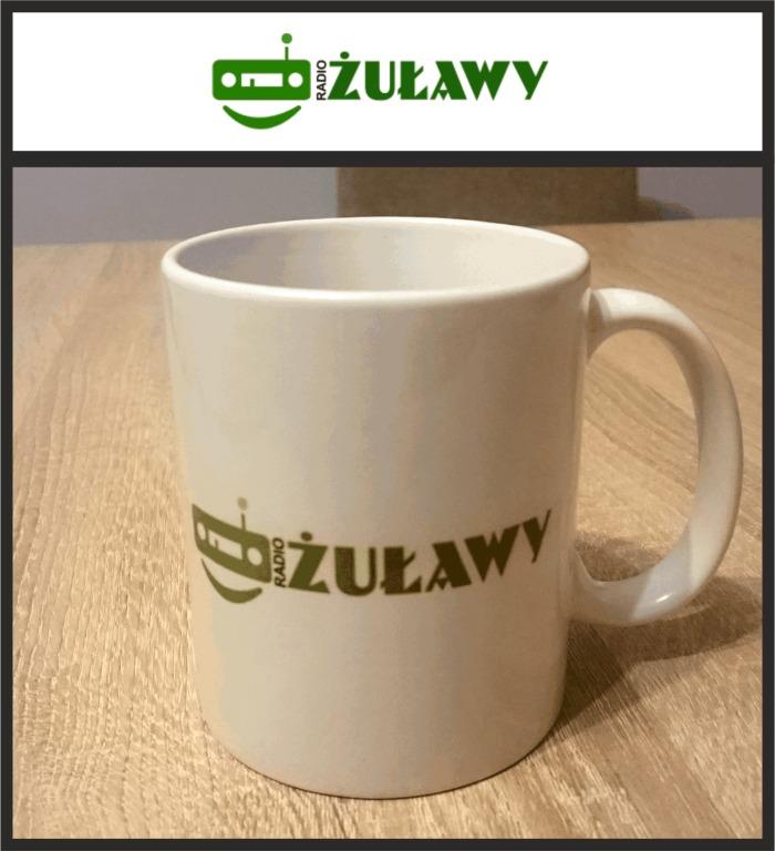 Kubek z logo Radio Żuławy