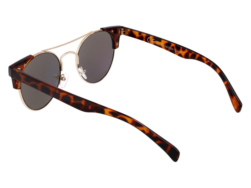 Lustrzane okulary damskie z motywem zwierzęcym 7262676756
