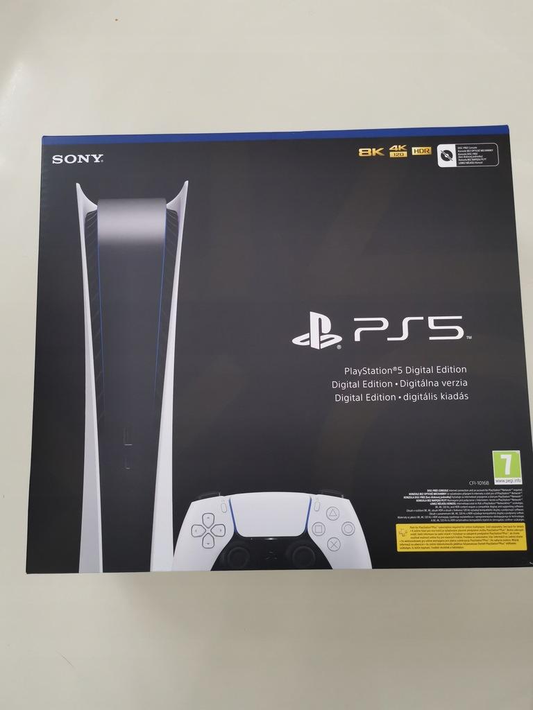 Sony PlayStation 5 Digital plus drugi pad   FW23%