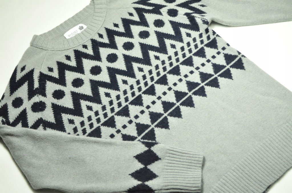 ATT męski sweter merino alpaka Wolsey 1755 r. M