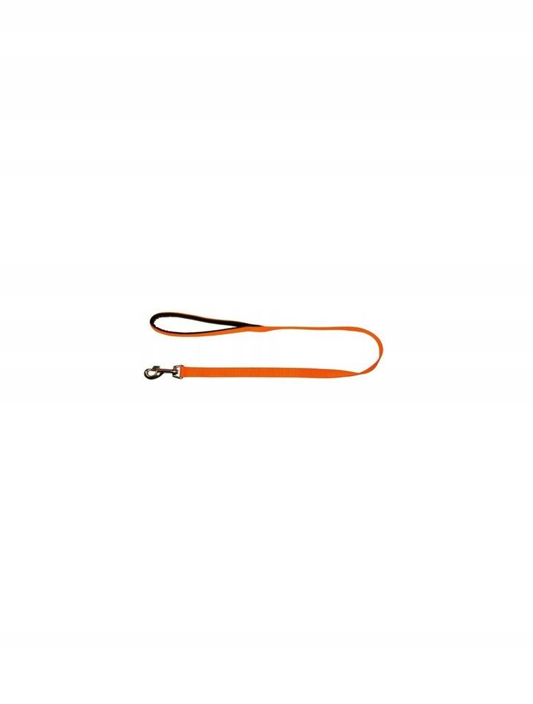 KERBL Smycz Miami, 200 cm x 25 mm, pomarańczowa