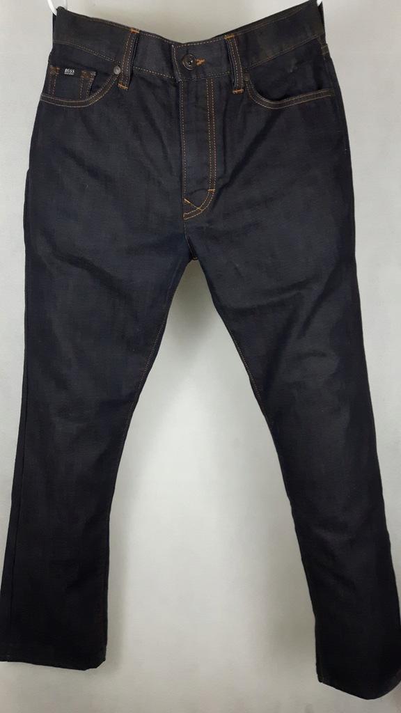 HUGO BOSS spodnie jeansy męskie 32/32