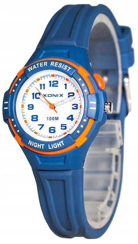 Mały Zegarek Dziecięcy XONIX WR100m Analog GRATISY