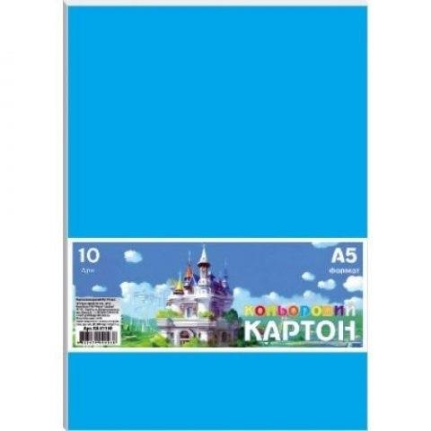 Karton kolorowy A5 10 arkuszy, 230g/m2 FRESH