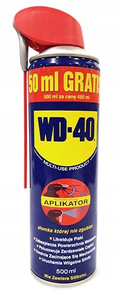 WD-40 - 500 ml - APLIKATOR - 450 + 50 ml GRATIS