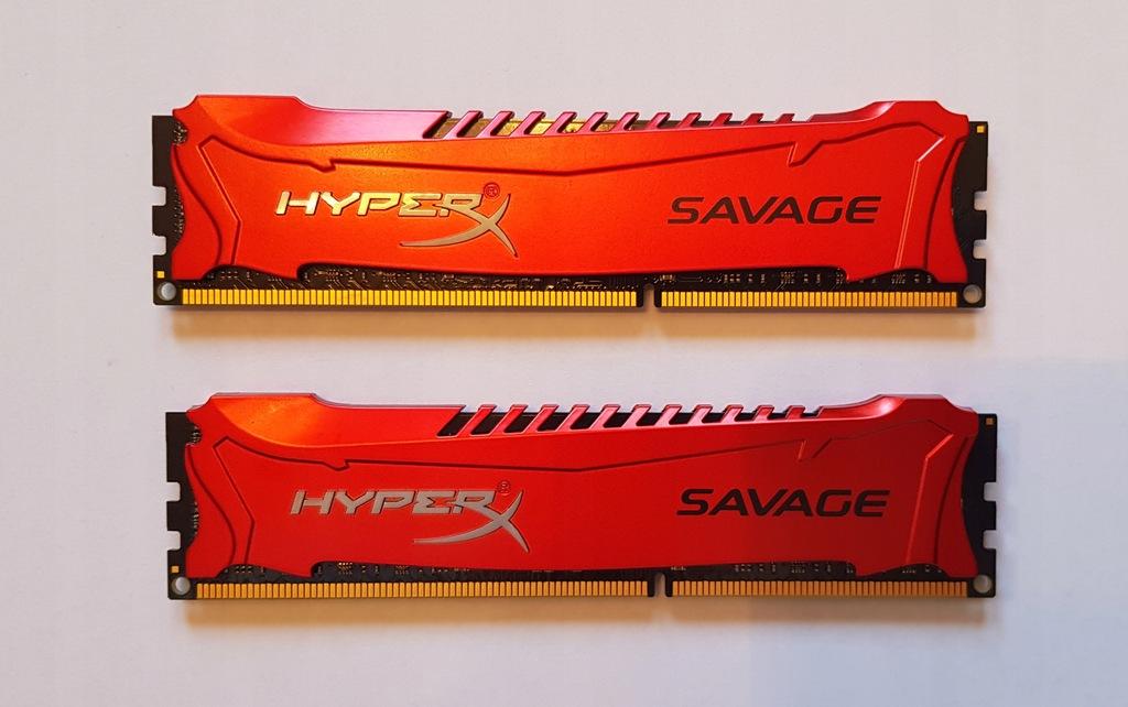 Pamięć HyperX Savage, DDR3, 16 GB,2400MHz, CL11