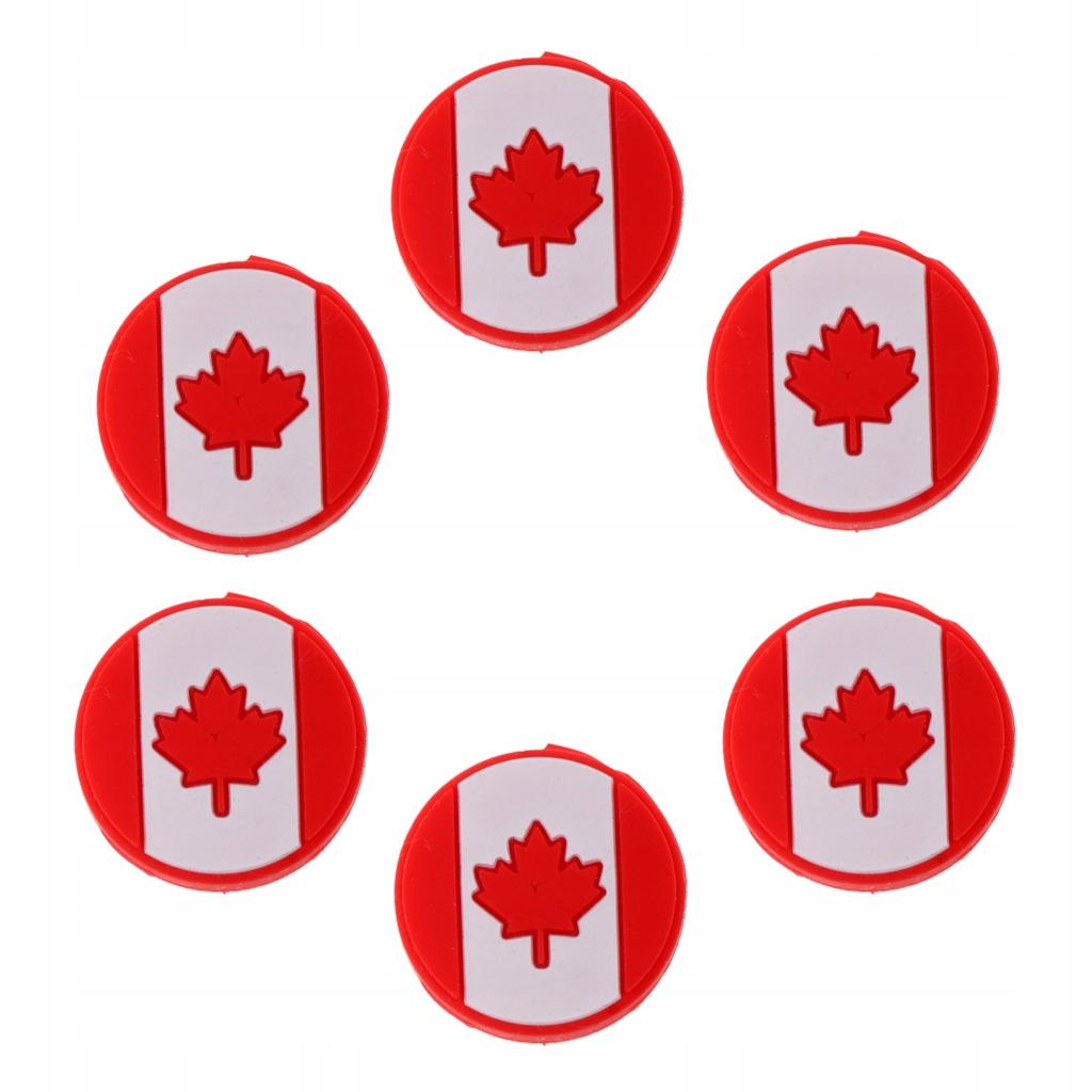 Tłumik drgań tenisowych - 6 Flaga CA