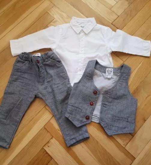 Koszula spodnie kamizelka 80 cool club