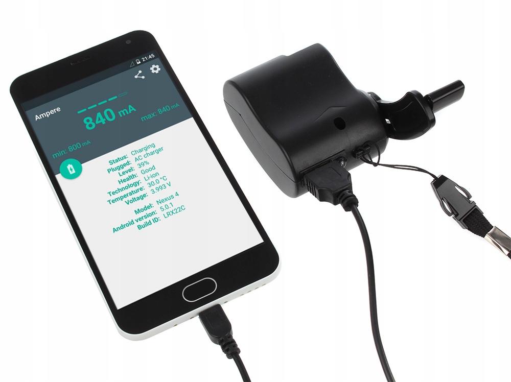 TURYSTYCZNA Ładowarka Ręczna micro USB do SMARTFON