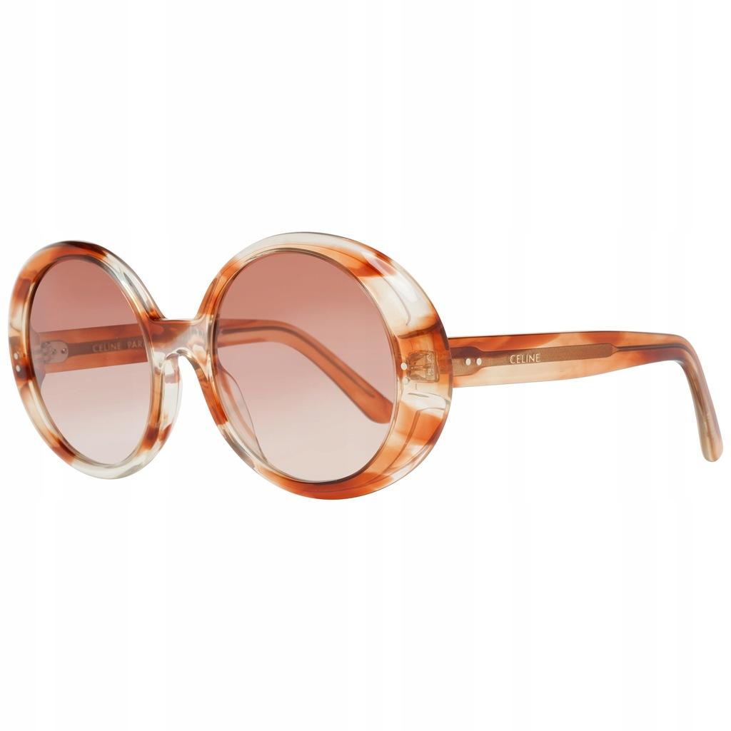 Okulary damskie Celine CL40065I Gradalne Brązowe