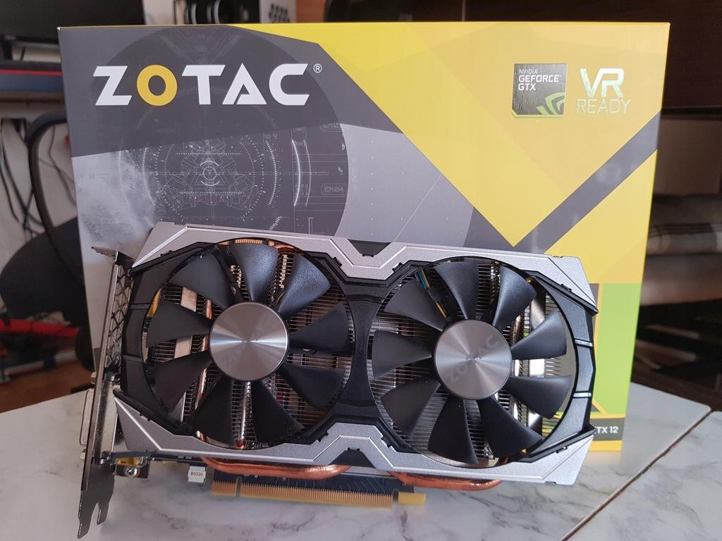 Geforce Nvidia GTX 1070 Mini ZOTAC 8GB