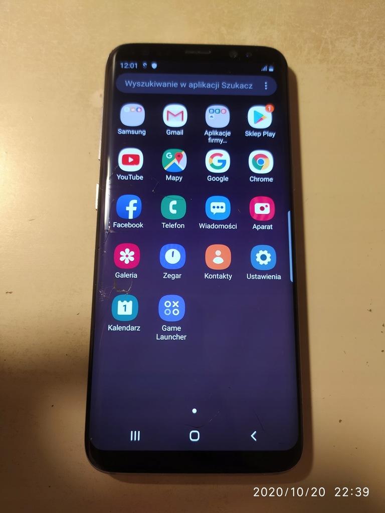 Smartfon Samsung Galaxy S8 4/64GB czarny