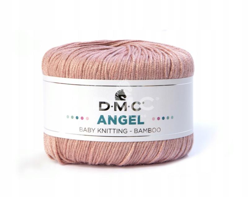 Włóczka DMC Angel 081 / brudny róż BAMBUS