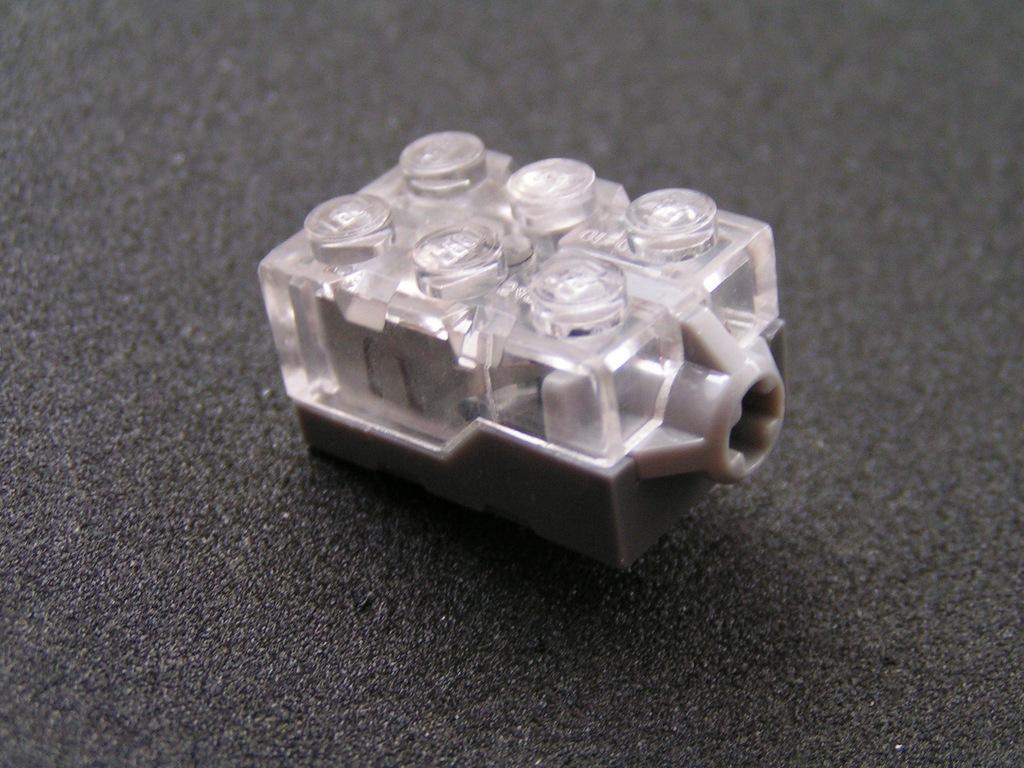 LEGO , KLOCEK ŚWIECĄCY LED 2X3 , 54930C02 - NOWY