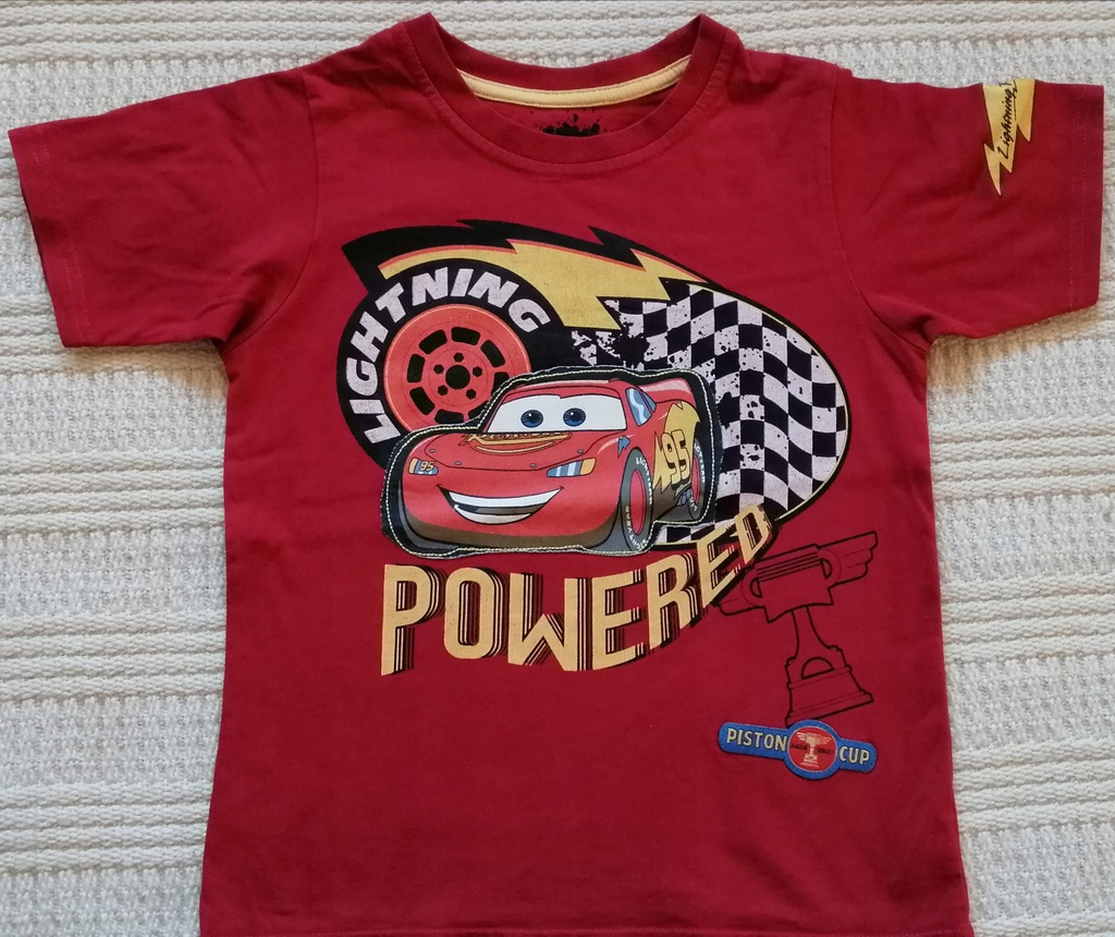 T-shirt Auta Cars M&S, rozm 110, 4-5 lat