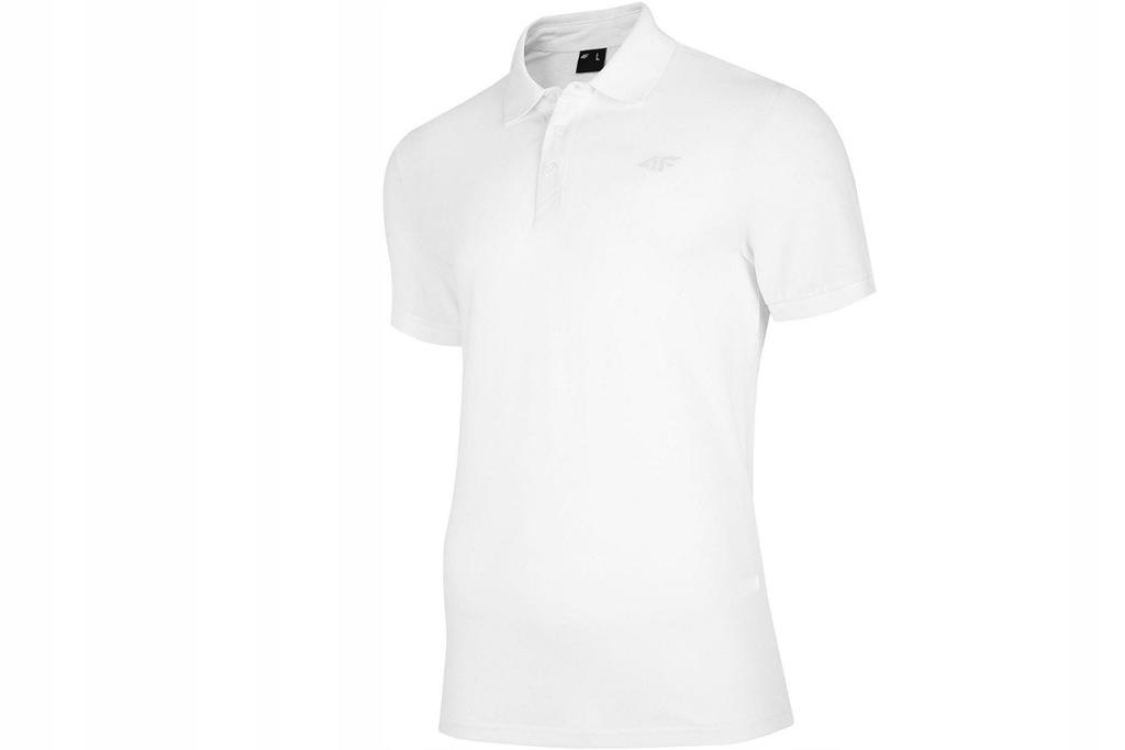 4F MEN'S T-SHIRT POLO *M* Męski T-shirt