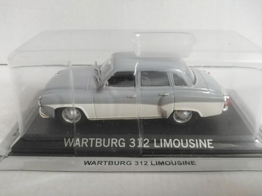 1:43 model Wartburg 312 Limousine Prl złota