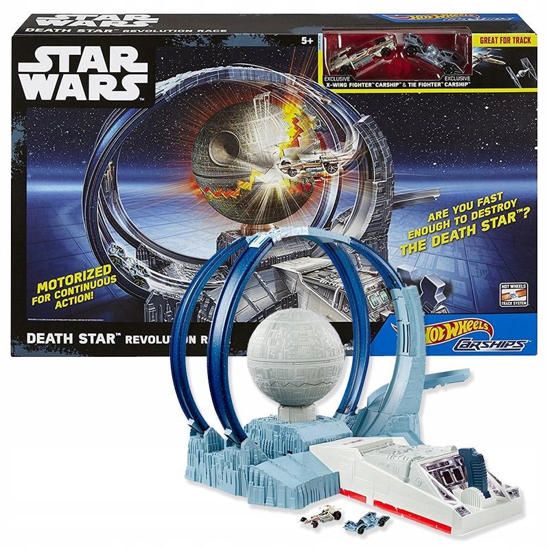 Tor Hot Wheels Star Wars - Zniszcz Gwiazdę Śmierci