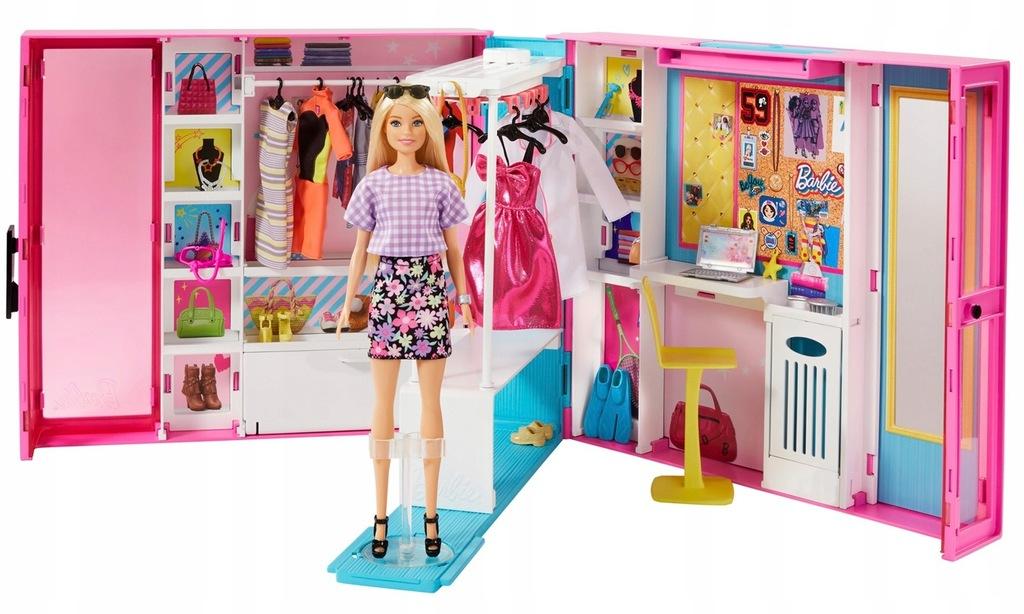 Barbie Fashionistas Wymarzona Szafa Gbk10 9595551264 Oficjalne Archiwum Allegro