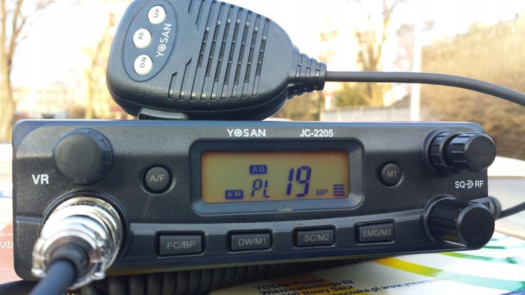 CBradio Yosan JC2205 ANL RFgain ASQ AM/FM