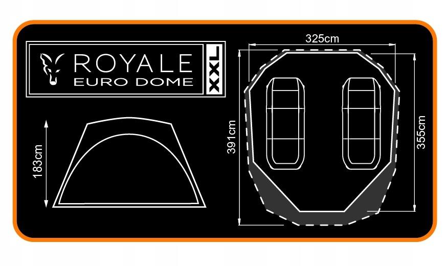 Namiot Fox Royale XXL Euro CUM152
