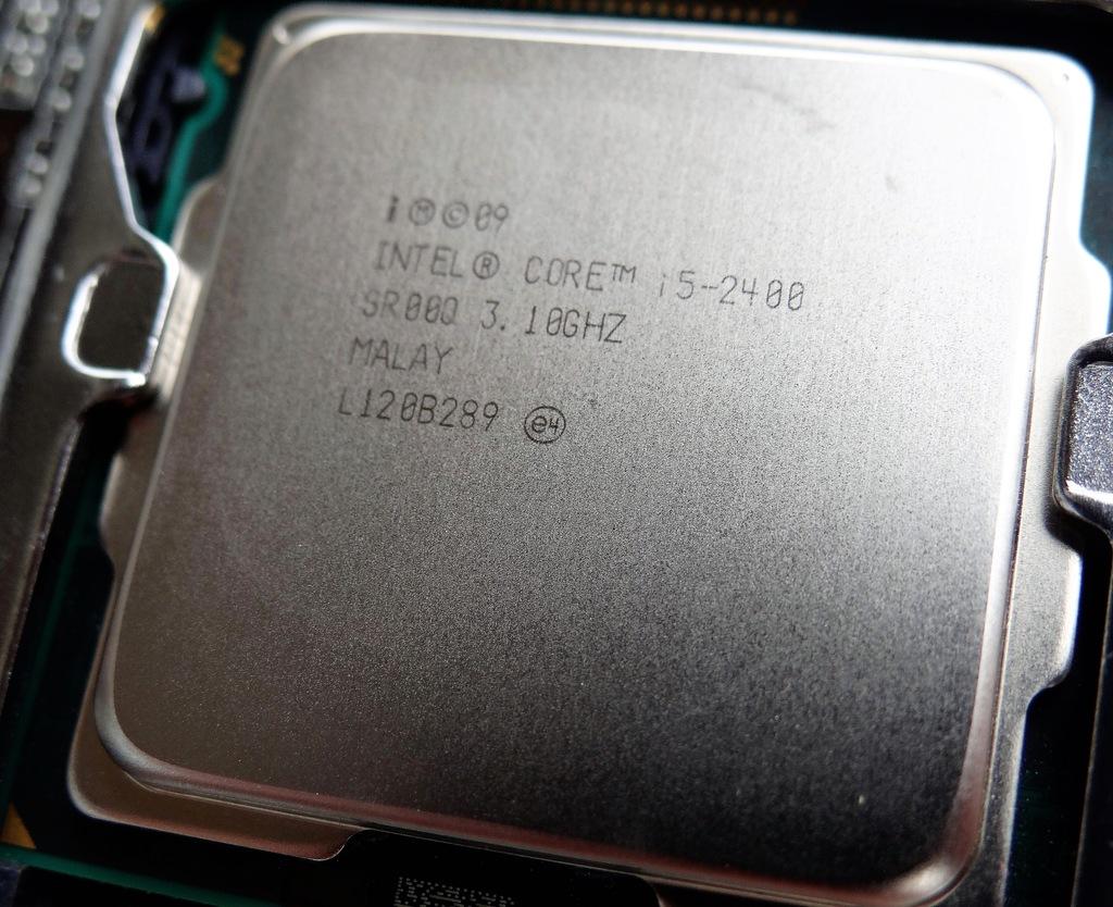 Procesor Intel i5 2400 + cłodzenie