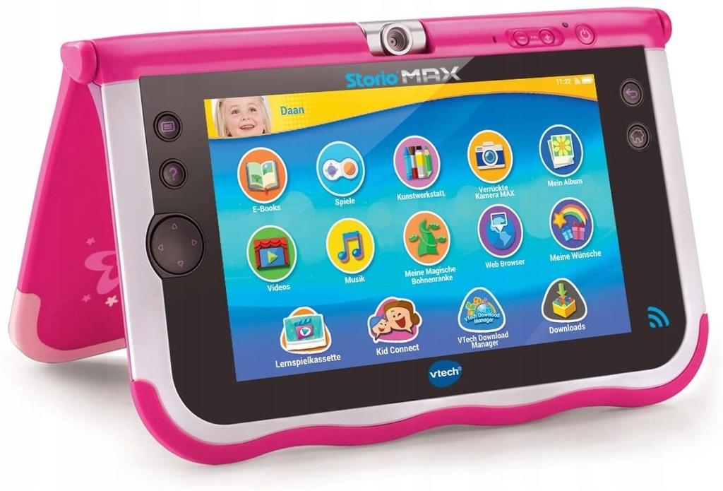 Tablet dla dziecka VTech 80-166854 7 Cali