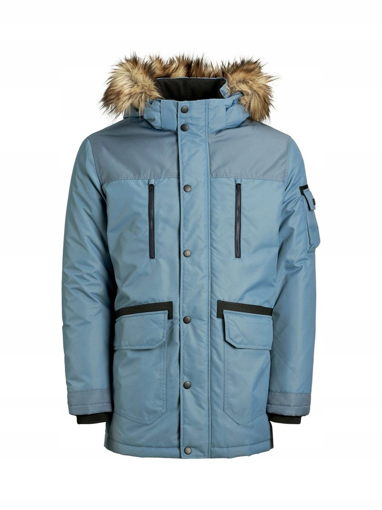 JACK & JONES KURTKA PARKA Z KAPTUREM__L