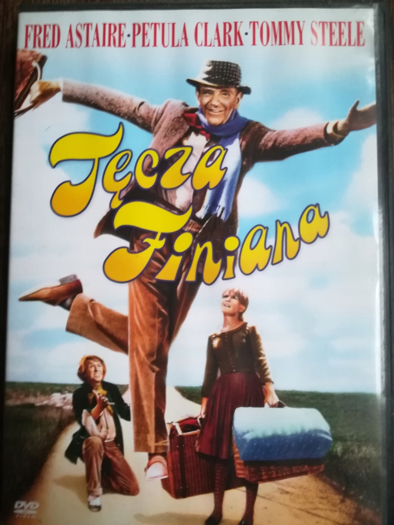 Tęcza Finiana Fred Astaire Musical DVD