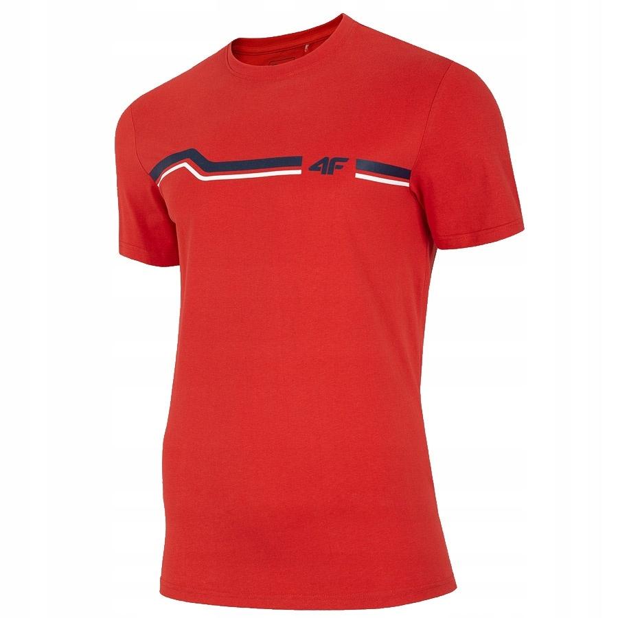 T-Shirt 4F H4L20-TSM024 62S biały XXXL!