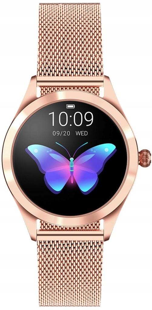 Zegarek Damski PACIFIC 6 SMARTWATCH Różowe złoto