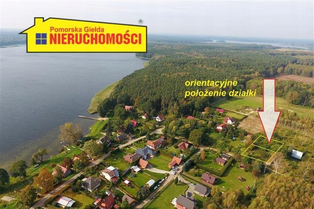 Działka, Dąbrowica, Borne Sulinowo (gm.), 538 m²